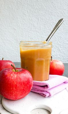 masło jabłkowe Food Design, Cantaloupe, Cake Recipes, Easy Meals, Food And Drink, Healthy Eating, Apple, Fruit, Sweet