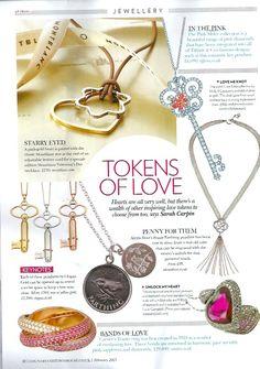 Love token jewellery