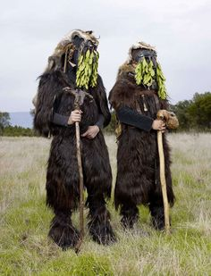 """1298  Now these are not your average Halloween costumes. For two years, French photographer Charles Fréger has been traveling throughout 19 European countries and trying to capture the spirit of what he calls """"tribal Europe"""" in his """"Wilder Mann"""" series. What he found was a huge array of pagan rituals, mainly related to the winter solstice and spring renewal, focusing on the common myth of the """"wild man."""""""