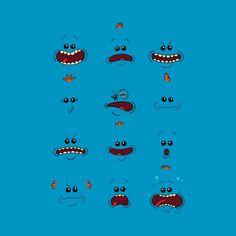 Awesome 'I%27m+Mr.+Meeseeks%2C++Look+At+Me' design on TeePublic!
