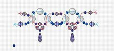 Free pattern for necklace Ontario | Beads Magic