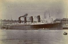"Photo from album ""Lusitania and Mauretania"" on Yandex. Rms Mauretania, Southern Methodist University, Out To Sea, Rms Titanic, Ocean, History, World, Yachts, Boats"
