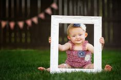 Shabby chic, one year old session