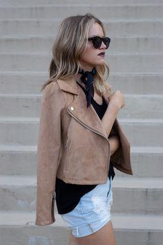 Fall fashion 2016 - Suede jacket