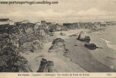 Portimão : Praia da Rocha - um trecho