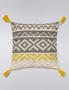 Conran Tassel Cushion