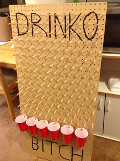 Home made Plinko drinking game. Under $20  2019  Home made Plinko drinking game. Under $20  The post Home made Plinko drinking game. Under $20  2019 appeared first on Birthday ideas.