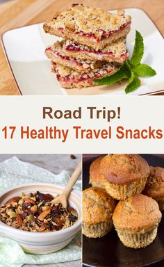 Road Trip! 17 Healthy Travel Snacks
