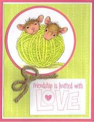 House Mouse - Close Knit Friendship card