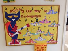 Pete the cat prek graduation bulletin board                                                                                                                                                                                 More
