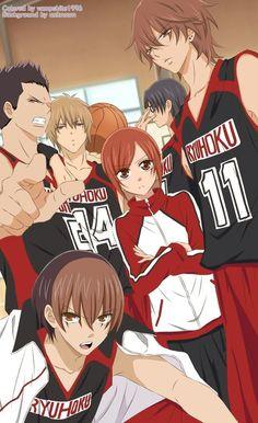 Namaikizakari Anime Style by on DeviantArt Anime Couples Manga, Cute Anime Couples, Anime Guys, Manga Love, Manga Girl, Anime Love, Art Manga, Manga Anime, Basketball Manga