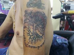#tattoo school thailand#done by Dries#