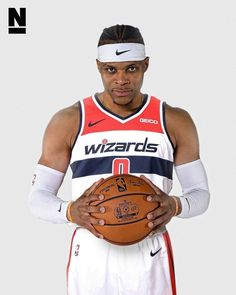"Basketball Forever on Instagram: ""Russell Westbrook is about to revert to BEASTBROOK again for the Washington Wizards! @noahlienielsen"" Nba Pictures, Basketball Pictures, Washington Wizards, Russell Westbrook, Sports Teams, The Wiz, Iphone, Kids, Instagram"