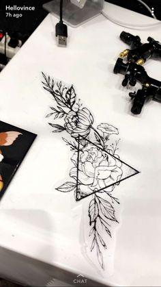 (notitle) - Tattoos - Tattoo Designs For Women Black Ink Tattoos, Cute Tattoos, Flower Tattoos, Body Art Tattoos, New Tattoos, Small Tattoos, Tattoo Sleeve Designs, Tattoo Designs For Women, Tattoos For Women