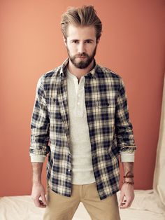 Trovata Wolfe Utility Shirt - this is hottttt....  If I was skinny and white, this would be a most def look...