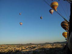 Voo de balão na Capadócia, Turquia  EUSOUATOA - dicas para o viajante independente