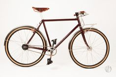 Sven Cycles Burgundy Roadster