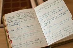 You may think you lead the most boring, unfamous life, but some day someone will find your old diaries fascinating.