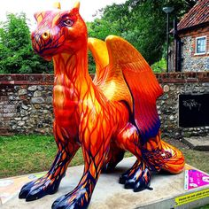 https://flic.kr/p/wAnFHG | Another stunning @gogodragons ! #upsticksandgo #gogodragons #dragons #dragonhunting #norwich #michfrost #instagood #instadragon #instatravel #instatourist #travel #tourist #unitedkingdom