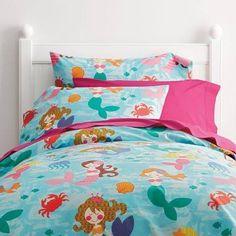 mermaid twin bedding - Google Search
