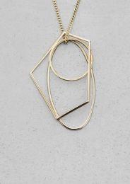 Geometric Metal Necklace