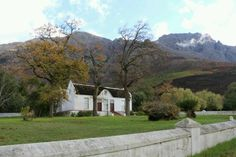 Near Jonkershoek nature reserve. One of the old traditional houses.