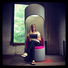 Our Connection Zone Privacy Booths were a big hit at NeoCon. Sitting in one, it's like you're in your own private world (the acoustics and 360 swivel are amazing). What do you think?