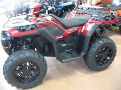 New 2017 Polaris Sportsman 850 SP Matte Sunset Red ATVs For Sale in Indiana. 2017 Polaris Sportsman 850 SP Matte Sunset Red, Sportsman® 850 SP MATTE SUNSET RED - 78 Horsepower ProStar 850 twin EFI engine - NEW! Rider active design for the ultimate sport utility experience - NEW! Steel reinforced racks