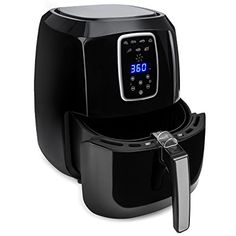Amazon.com: Best Choice Products 5.4 Qt Extra Large Capacity Digital Air Fryer W/ LCD Screen, 7 Preset Settings, and Non-Stick Coating: Kitchen & Dining