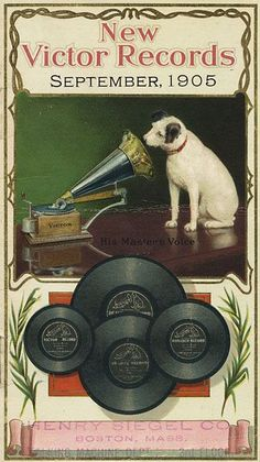 HOME ENTERTAINMENT: New Victor recordings, 1905