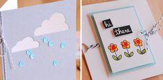 Cloud w/DSP; Sequins for rain drops. Clouds_flowers_WEB