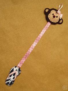 monkey/flipflop bookmark :)
