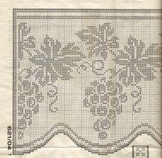 Gallery.ru / Fotografia # 137 - Filet Crochet versare Point de Croix 2 - Mongia