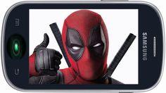 Fajny dzwonek na telefon komórkowy - Deadpool Iphone