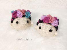 Frida Kahlo, Frida Kahlo amigurumi, Frida doll, Frida crochet