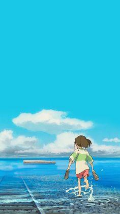 [스마트폰 배경] Ghibli wallpapers * - Ghibli wallpapers * wallpaper and background photos - Hayao Miyazaki, Cartoon Wallpaper, Kawaii Wallpaper, Iphone Wallpaper, Totoro, Studio Ghibli Art, Studio Ghibli Movies, Anime Kunst, Anime Art