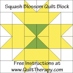 Cutting Requirements for finished block (precise seam allowance): Green: Cut TWO 2 squares. Yellow: Cut FOUR 2 x 4 strips. Yellow: Cut EIGHT 2 squares. Then on the back side of … Continue reading → Barn Quilt Patterns, Pattern Blocks, Quilting Patterns, Quilting Ideas, Placemat Patterns, Quilting 101, Quilting Room, Quilting Projects, Print Patterns