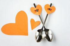 Simple heart toppers - great for valentines dinner tonight!