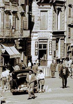 Greece Pictures, Corfu Greece, Vintage Pictures, Vintage Cards, Street View, Dress, Image, Dresses, Vestidos