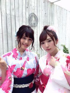 Pyxis(豊田萌絵&伊藤美来)公式 @info_pyxis  8月9日 本日発売の声優グランプリ9月号には Pyxis、浴衣で登場しております!  #Pyxis #声グラ #浴衣