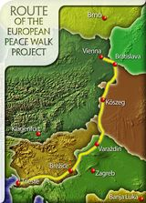European Peace Walk Route