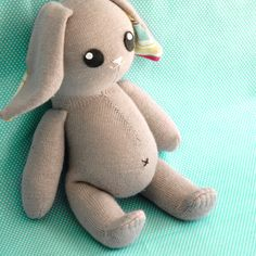 Craft Schmaft — Funny Tummy Bunny Pattern (PDF)