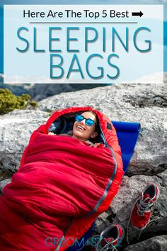 If you are a backpacker or camper you need to check out these tips for picking the best sleeping bag for your next adventure! Compact Sleeping Bag, Best Sleeping Bag, Mummy Sleeping Bag, Down Sleeping Bag, Sleeping Bags, Camping Gear, Camping Trailers, Camping Stuff, Camping Outdoors
