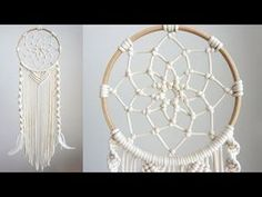 Tips And Tricks, Giant Dream Catcher, Dream Catchers, Diy Dream Catcher Tutorial, The Knot, Macrame Knots, Diy Macrame, Macrame Bag, Macrame Tutorial