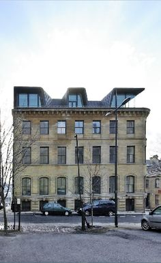 Apartment building, Hanover House, Bradford (UK) by Kraus - Schönberg…
