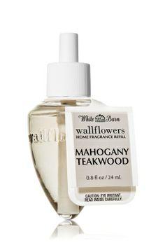Mahogany Teakwood Wallflowers Fragrance Bulb - Slatkin & Co. - Bath & Body Works $6.50