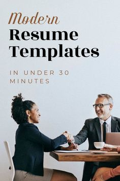 Need to modernize your resume? Choose an easy to use resume template from Resume Foundry on Etsy. Copy and paste your contents from your old resume into your new one. Microsoft Word Resume Template, Modern Resume Template, Creative Resume Templates, Cv Template, Resume Tips, Resume Examples, Resume Words, References Page, Resume Format