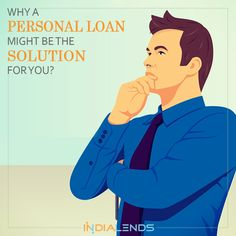From a #medicalemergency to a last-minute #travelplan, a #PersonalLoan can help you get access to #instantcash. #LowInterestPersonal Loan, #OnlinePersonalLoan http://www.slideshare.net/IndiaLends/why-a-personal-loan-might-be-the-solution-for-you