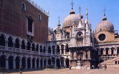 Venezia - Cortile del Palazzo Ducale