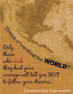 Lass Dich nicht von Anderen aufhalten. Hör auf Deine eigene, innere Stimme! www.pinkcompass.de